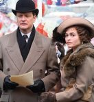 Colin Firth stars as George VI alongside Helena Bonham Carter in The King's Speech